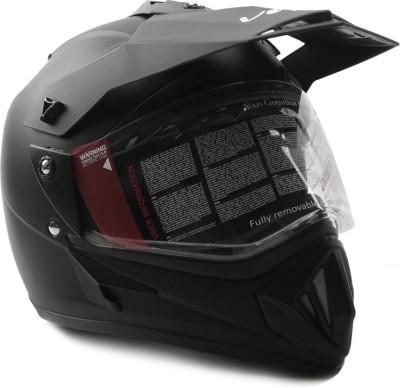 Vega Off Road Motorsports Helmet - Medium - Dull Black