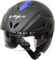 Vega Cruiser W/P Arrows Motorsports Helmet - M (Dull Black, Matt Blue)