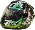 THH T 76 Motorbike Helmet - M - Black, Green