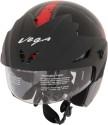 Vega Cruiser W/P Arrows Motorsports Helmet - M (Black, Red)