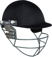 Shrey Match Stainless Steel Visor Cricket Helmet - L (Navy Blue)