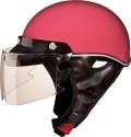 Studds Sporting Troy Motorsports Helmet - L - Pink