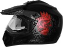 Vega Off Road Ranger Motorsports Helmet - M - Dull Black, Red