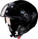 Studds Downtown Motorsports Helmet - L - Black