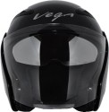Vega Eclipse Motorsports Helmet - Medium - Gloss Black
