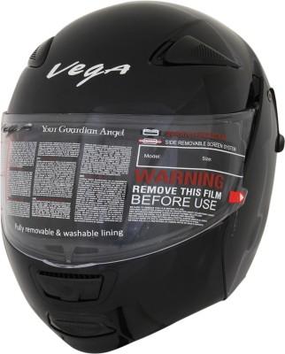 Vega Boolean Motorsports Helmet - Medium - Gloss Black