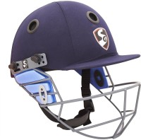 SG AEROPLAYERS Cricket Helmet - M (Navy Blue)