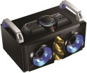 Jack Martin JM-Boombastic With Neon Lights 2.1 Channel Speaker With Inbuilt FM , USB & SD Reader Mini Hi-Fi System (Black)