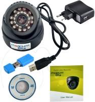 Magnum Elite 24 IR Night Vision Dome CCTV Camera (USB) Inbuilt DVR With Memory Card Slot Recording 0 Channel Home Security Camera (NA)