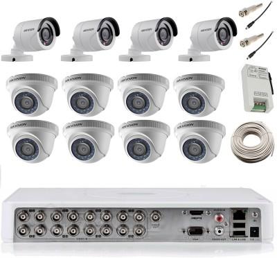Hikvision DS-7116HWI-SH 16Channel + 8 Dome + 4 Bullet CCTV Cameras
