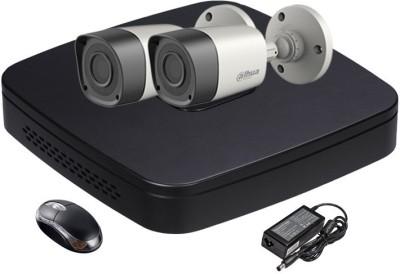 Dahua-DH-HCVR4104C-S2-4-Channel-Dvr-,2(DH-HACHFW1000-RP2)-Bullet-Cameras