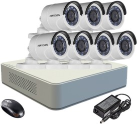 Hikvision-DS-7108HGHI-E1-8-Channel-DVR-7-(DS-2CE16COT-IR)-Bullet-Camera-(With-Adapter-&-Mouse)