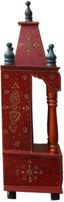 Kakori Handcrafted Mandir in Sapphire Colors