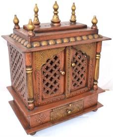 D Dass vintage Wooden Home Temple