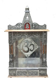 Pavitra Mandir Open Aluminium, Copper, Wooden Home Temple