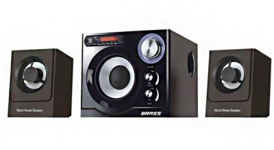 Brass 911 2.1 Home Theatre System (iPod)