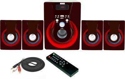 Vsure VHT-4009BT with BLUETOOTH,USB,FM & AUX-IN 4.1 Home Theatre System (led tv, Dvd, Pc, Laptop, Mobile, Tablets, Mp3/mp4 player etc.)