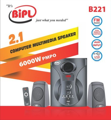 BIPL B221 2.1 Home Theatre System (USB FM Player)