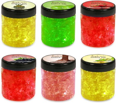 Sophies Shisha Assorted Hookah Flavor 6   600 g, Pack of 6 available at Flipkart for Rs.1440