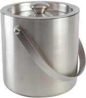 Scrazy Classic Ice Bucket - 1 Litre Stainless Steel Ice Bucket (Silver 1 L)