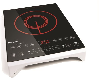 Philips HD4909 Induction Cooktop (Black, Touch Panel)