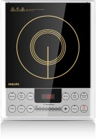 Philips HD-4929 Daily Collection Induction Cooktop (Silver, Black, Jog Dial)