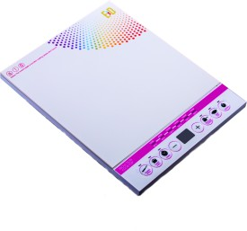 ED Mass White Induction Cooktop
