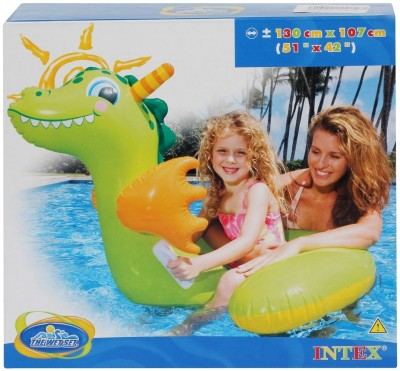 compare intex ride on baby dragon inflatable water games at compare hatke. Black Bedroom Furniture Sets. Home Design Ideas