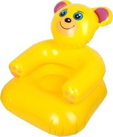 Yash Novelty Teddy (Junior) For Kids Inflatable Chair (Yellow)