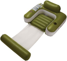 Jilong UV-Cut Sun-Shaded Inflatable Lounger