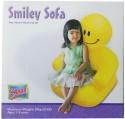 Suzi Smily Inflatable Sofa - Yellow