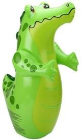 Intex Crocodile Shape - Green Inflatable 3-D Punching Bop Bag