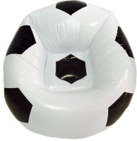 Suzi Football Jr Inflatable Chair (White & Black)