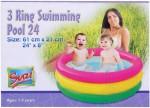 Suji 3 Ring Swimming Pool 24 Inch