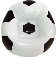 Yash Novelty Football (Junior) For Kids Inflatable Chair (White)