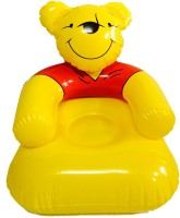 Suzi Honey Bear Inflatable Chair (Yellow, Red)