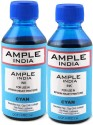 Ample India 100ml Compatible For Epson L100,L110,L200,L210,L300,L350,L355,L550,L555 Cyan Ink (Cyan)