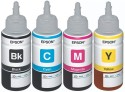 Epson For L100/L200/L210/L220/L300/L350/L500 Original Ink Ink (Black, Cyan, Megenta, Yellow)