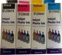 Flowjet L100 / L110 / L130 / L200 / L210 / L220 / L300 / L310 / L350 / L355 / L360 / L365 / L455 / L550 / L555 / L565 / L1300 Black, Cyan, Magenta, Yellow Ink (Black, Cyan, Magenta, Yellow)