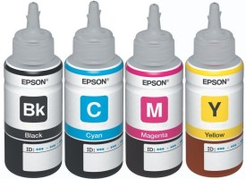 Epson L100 / L110 / L130 / L200 / L210 / L220 / L300 Multi-color Ink (Black,Magenta,Yellow,Magenta)