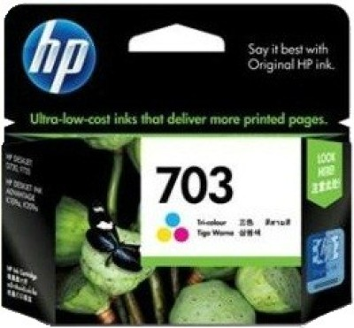 Buy HP 703 Tricolor Ink Cartridge: Inks & Toners