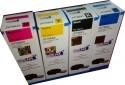 Lyson Ink Set For Epson Printer L100 / L110 / L200 / L210 / L220 / L300 / L350 / L355 / L550[ Set Of 4 Colors ] Black, Cyan, Yellow, Magenta Ink (Black, Cyan, Yellow, Magenata)