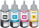 Epson For L100/L200/L210/L220/L300/L350/L500 Pigment Based Ink (Black, Cyan, Megenta, Yellow)