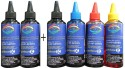 GoColor HP Premium Quality Inkjet Refill Ink 100 ML X 4 Colours + 2 Black Extra Black Ink (Black, Black, Black, Cyan, Magenta, Yellow)