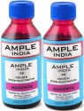 Ample India 100ml Compatible For Epson L100,L110,L200,L210,L300,L350,L355,L550,L555 Magenta Ink (Magenta)