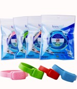 LEEVME Insect Repellents LEEVME Silicon Anti Mosquito Bracelet