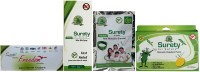 Surety For Safety Freedom + After Bite Spray + Anti Mosquito Bracelet(Green) + Mosquito Repellent 20 Patch (Pack Of 4)