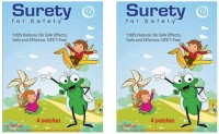 Surety For Safety Herbal Mosquito Repellent Patches 4 (Pack Of 2) (Pack Of 2)