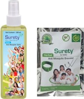 Surety For Safety Herbal Spray, Bracelet (Green) (Pack Of 2)