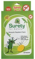 Surety For Safety Mosquito Repellent 50 Patch (Pack Of 1)